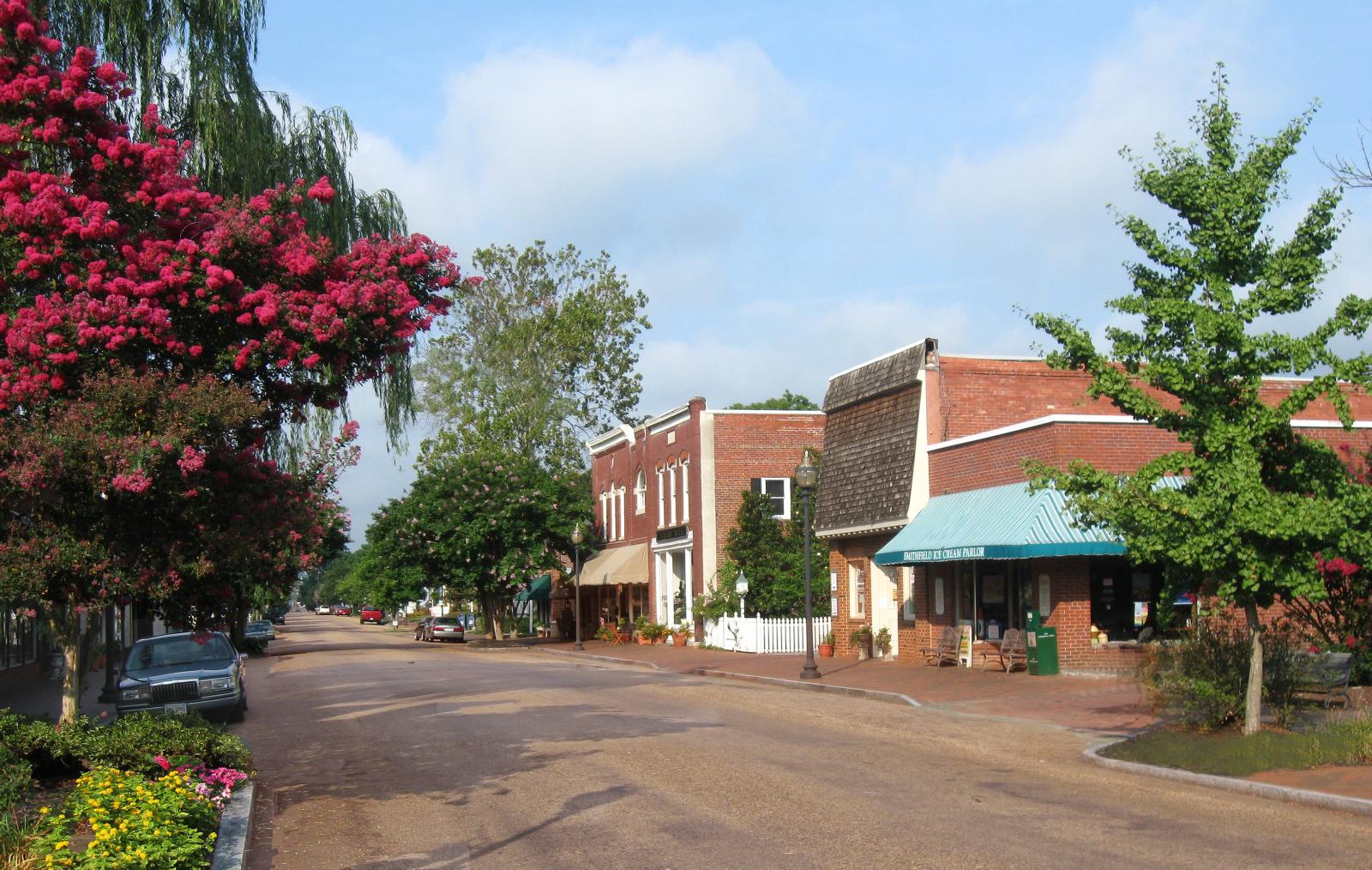 downtown smithfield